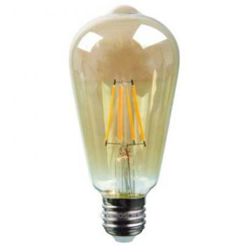 Bellson Led Lamp Retro Filament ST64 4W E27 Amber